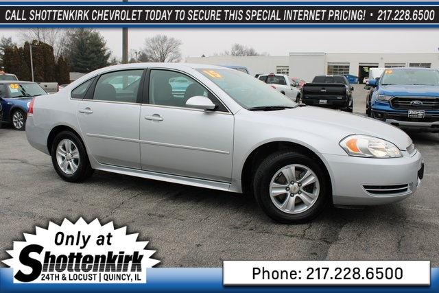 Pre-Owned 2015 Chevrolet Impala Limited LS
