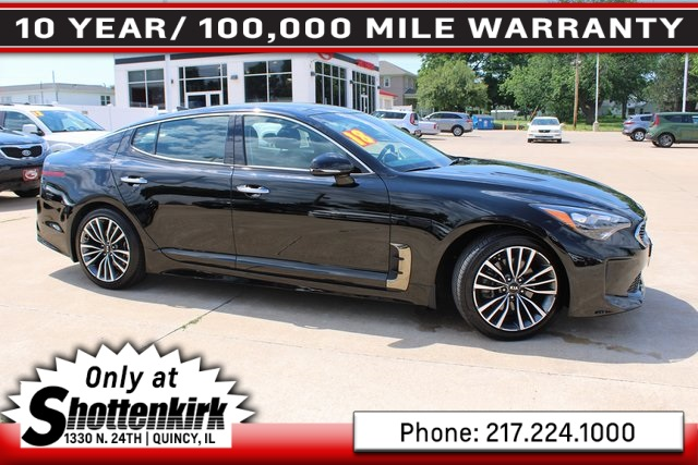 Certified Pre-Owned 2018 Kia Stinger Premium